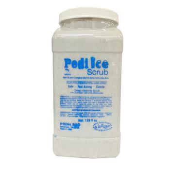 Pedi Ice Scrub White 1gal