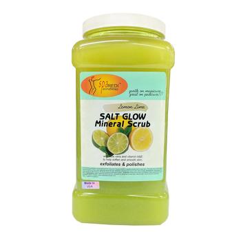 Salt Glow Scrub - Lemon Lime 1gal