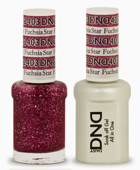 Daisy DND Duo Gel - 403 Fuchsia Star