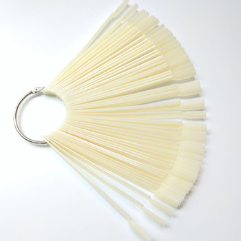 Color Chart Sticks 50pc with Keyring Natural