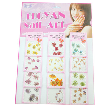 Dried Flowers For Nail Art 12Pack