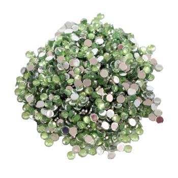 Rhinestone Gems Green