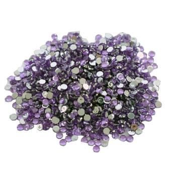 Rhinestone Gems Purple
