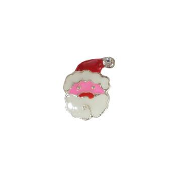 Pink Santa Charm