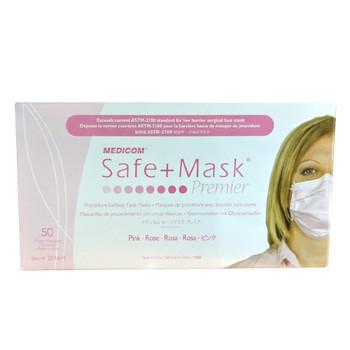 Medicom Safe+ Premier Masks Pink