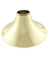 Schmid Flare, Hand Hammered Yellow Brass