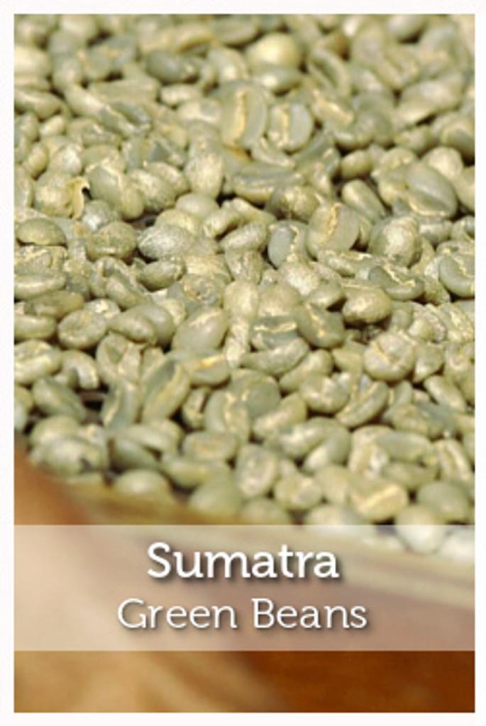 Sumatra Fair Trade Organic Green Coffee Beans