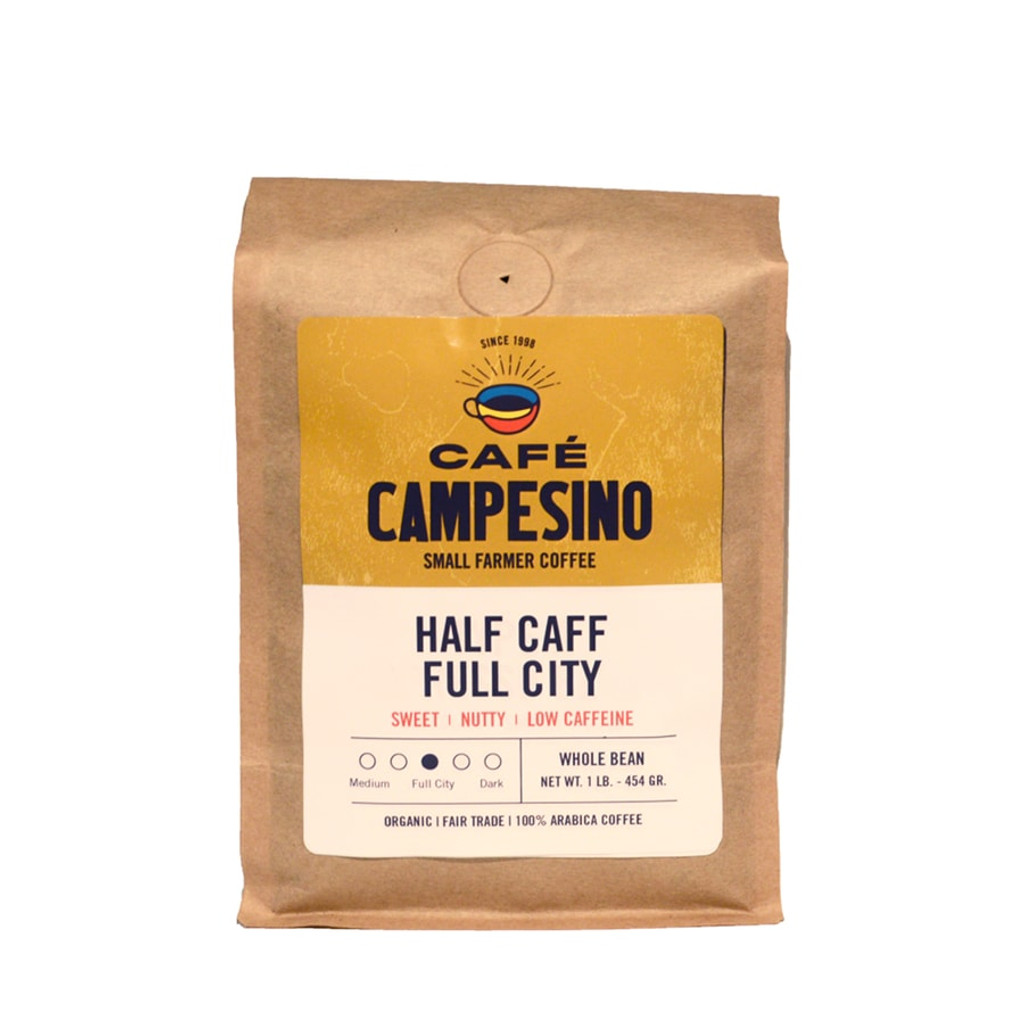 Half Caff Blend Full City Roast Coffee