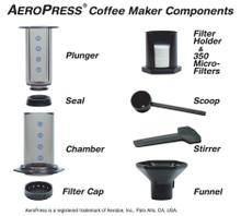 AeroPress Coffee Maker with Tote Bag