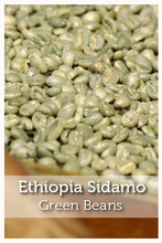 Ethiopia Sidama Natural Green Coffee Beans