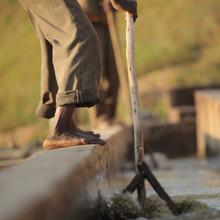 Coffee washing process in Sidama, Ethiopia.