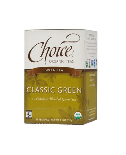 Choice Classic Blend Green Tea