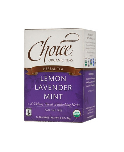 Choice Lemon Lavender Mint Tea (caffeine free)