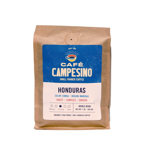 Honduras Full City Roast Coffee