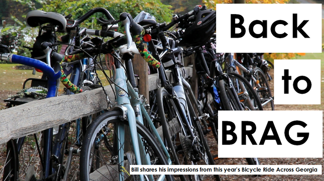 Back on the Bike: a Debrief of BRAG 2017