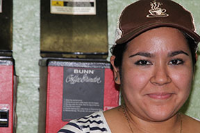 Cafe Campesino Production Manager Itzel Reyes