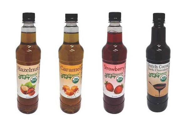 Cafe Campesino carries Joes Organic Syrups wholesale