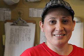 Cafe Campesino Barista Karen Montano