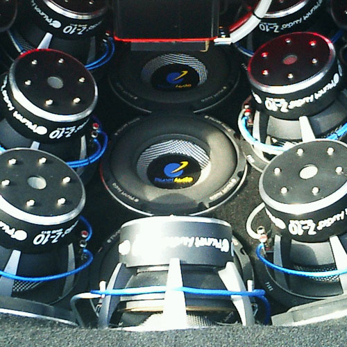 Amplifiers & Subwoofers Installation