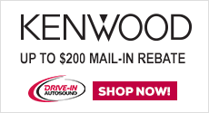 Save up to $250 on select Kenwood Models