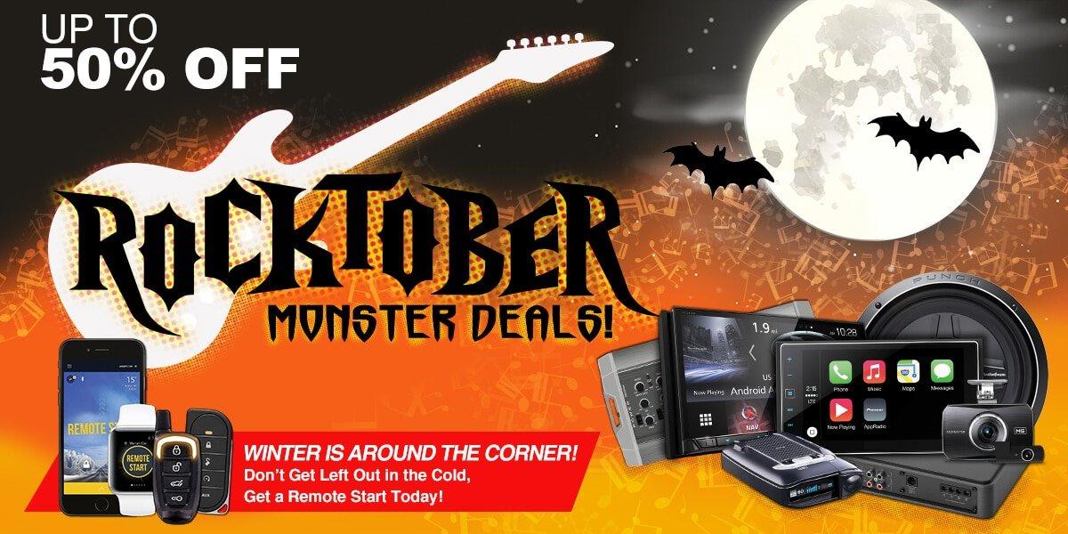 Rocktober Sale - Save up to 50% OFF