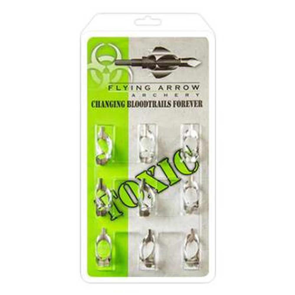 Flying Arrow Toxic Replacement Blades