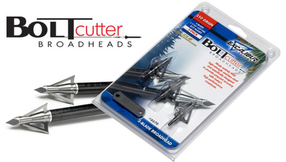 Excalibur Boltcutter Broadheads, 150 Gr