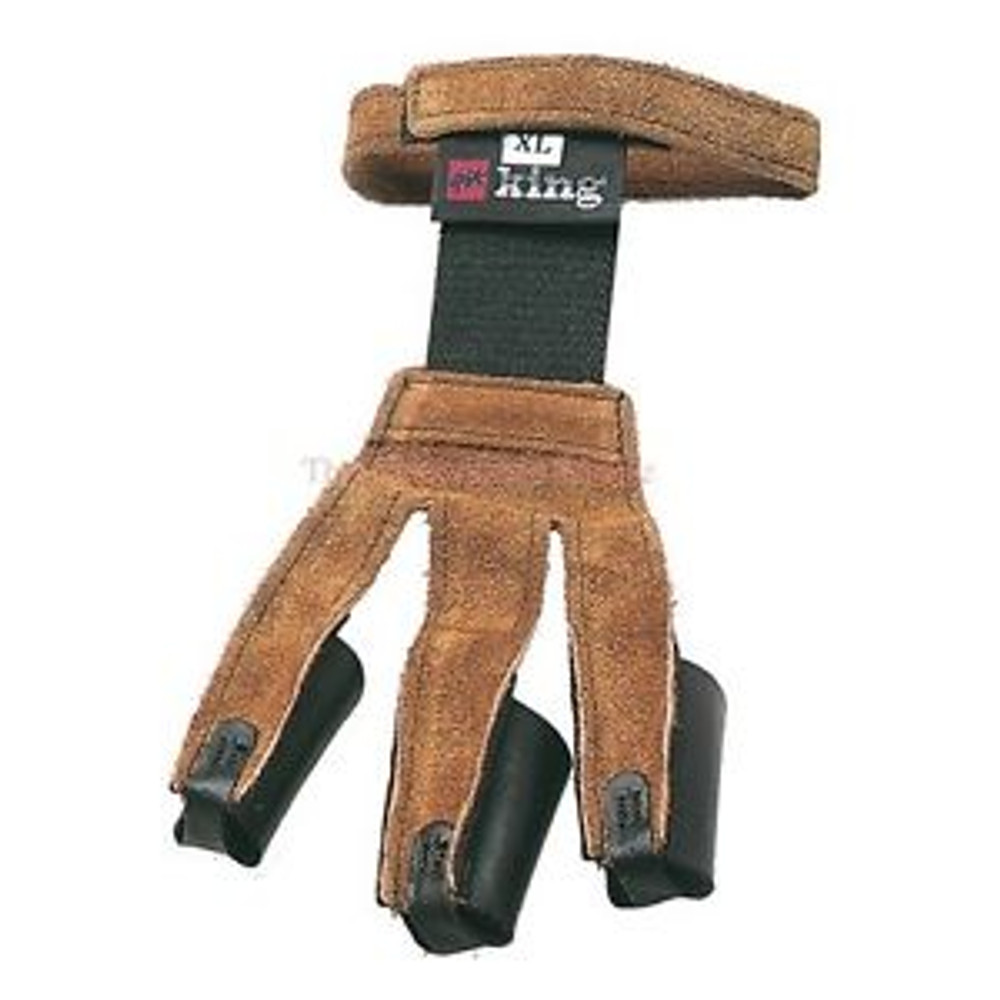Traditional Leather Glove, Tobacco