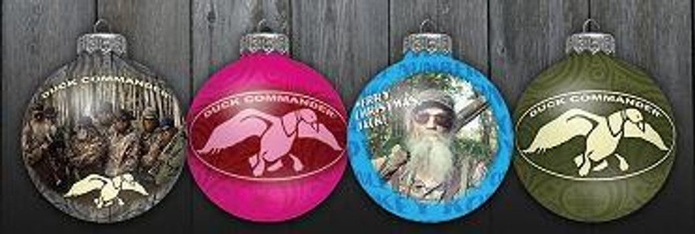 Duck Dynasty Ornament Set