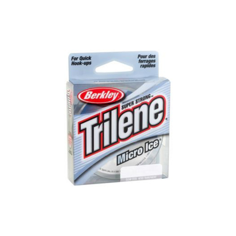 Berkley Trilene Micro Ice, Clear Steel, 6 lb, 110 yd