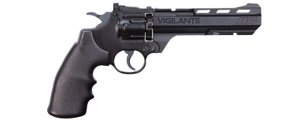 Crosman Vigilante Semi-Auto BB/Pellet Revolver