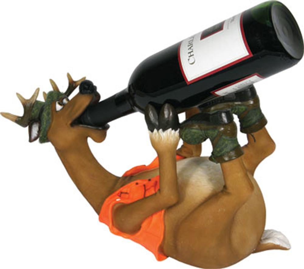 Rivers Edge Wine Holder, Deer