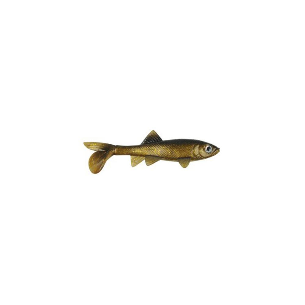 """Berkley Havoc Sick Fish, 5.5"""" In Golden Nugget"""