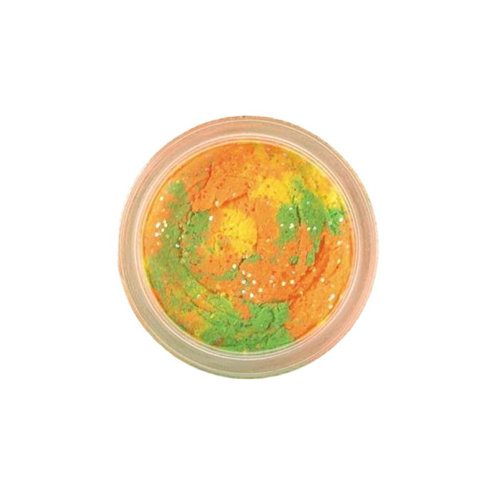 PowerBait Chroma-Glow Trout Bait, 50 g In Glitter Rainbow