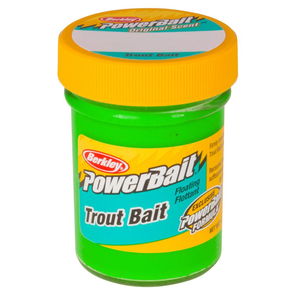 PowerBait Original Scent Trout Bait, 50 g In Spring Green