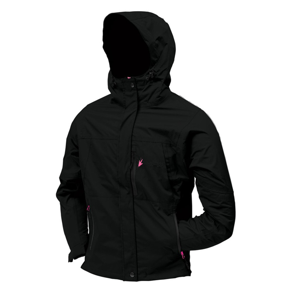 Frogg Toggs Women's Toad-Rage Jacket In Pink/Black
