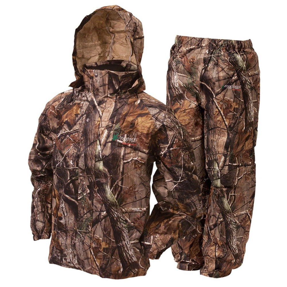 Frogg Toggs Rain Suit In RealTree Xtra