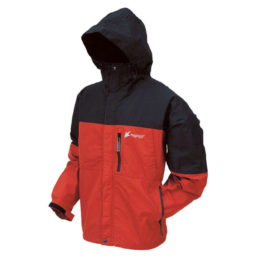 Frogg Toggs Toad-Rage Jacket In Red/Black