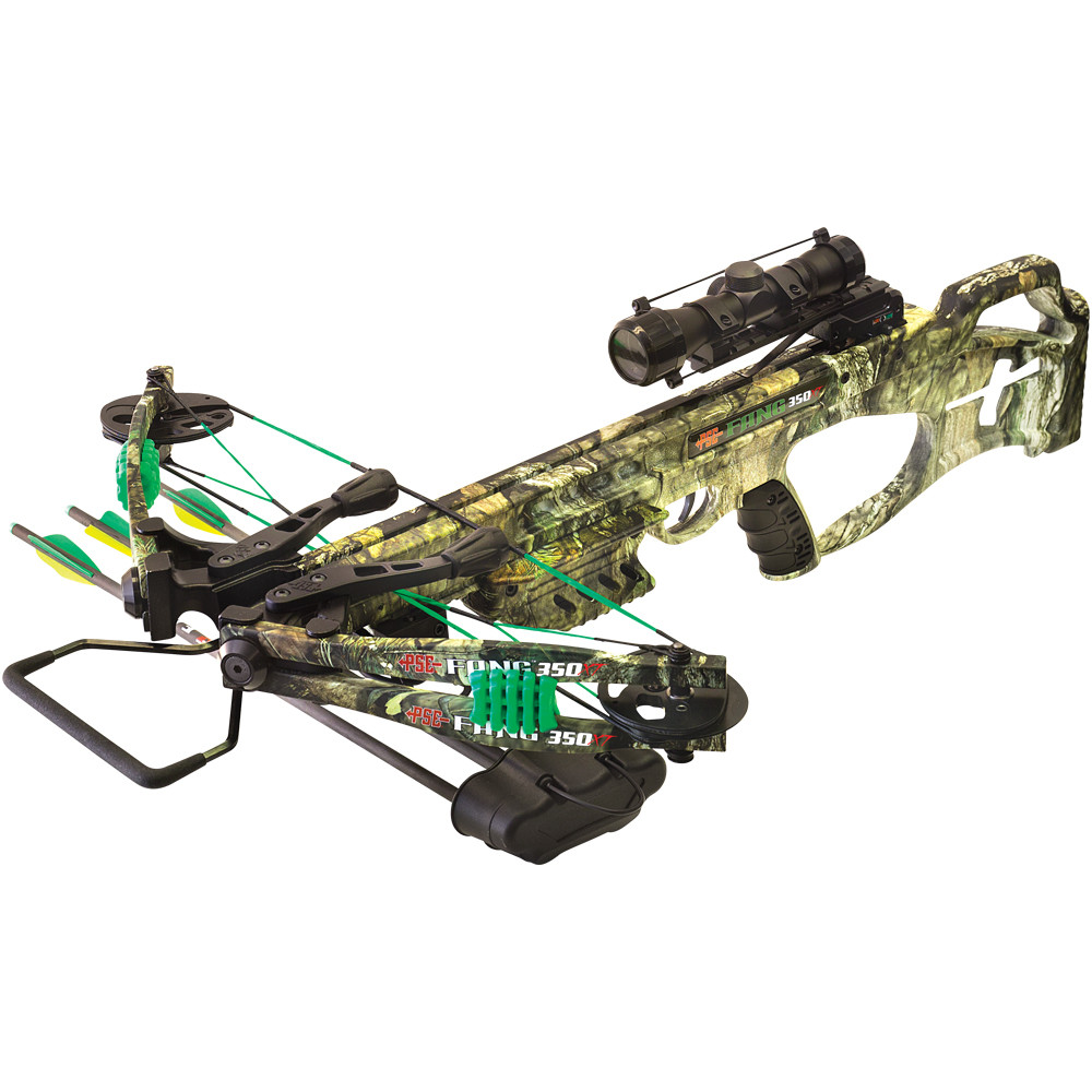 PSE Fang XT Crossbow Package, 350 fps