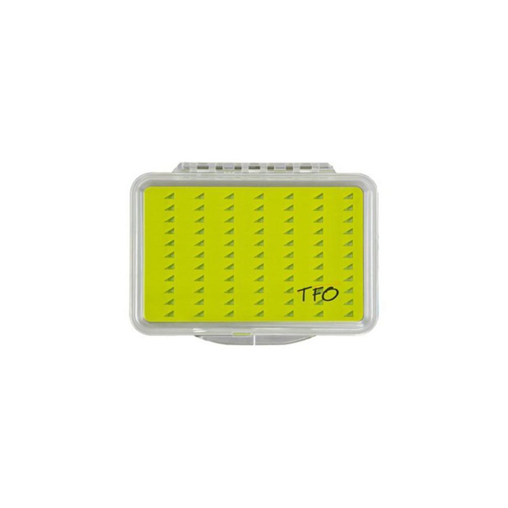 TFO Silicone Slit Foam Fly Box, Medium