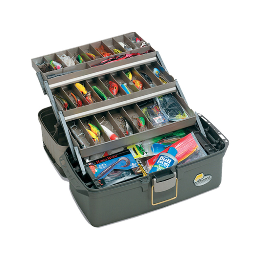 Plano Guide Series Large 3-Tray Tackle Box