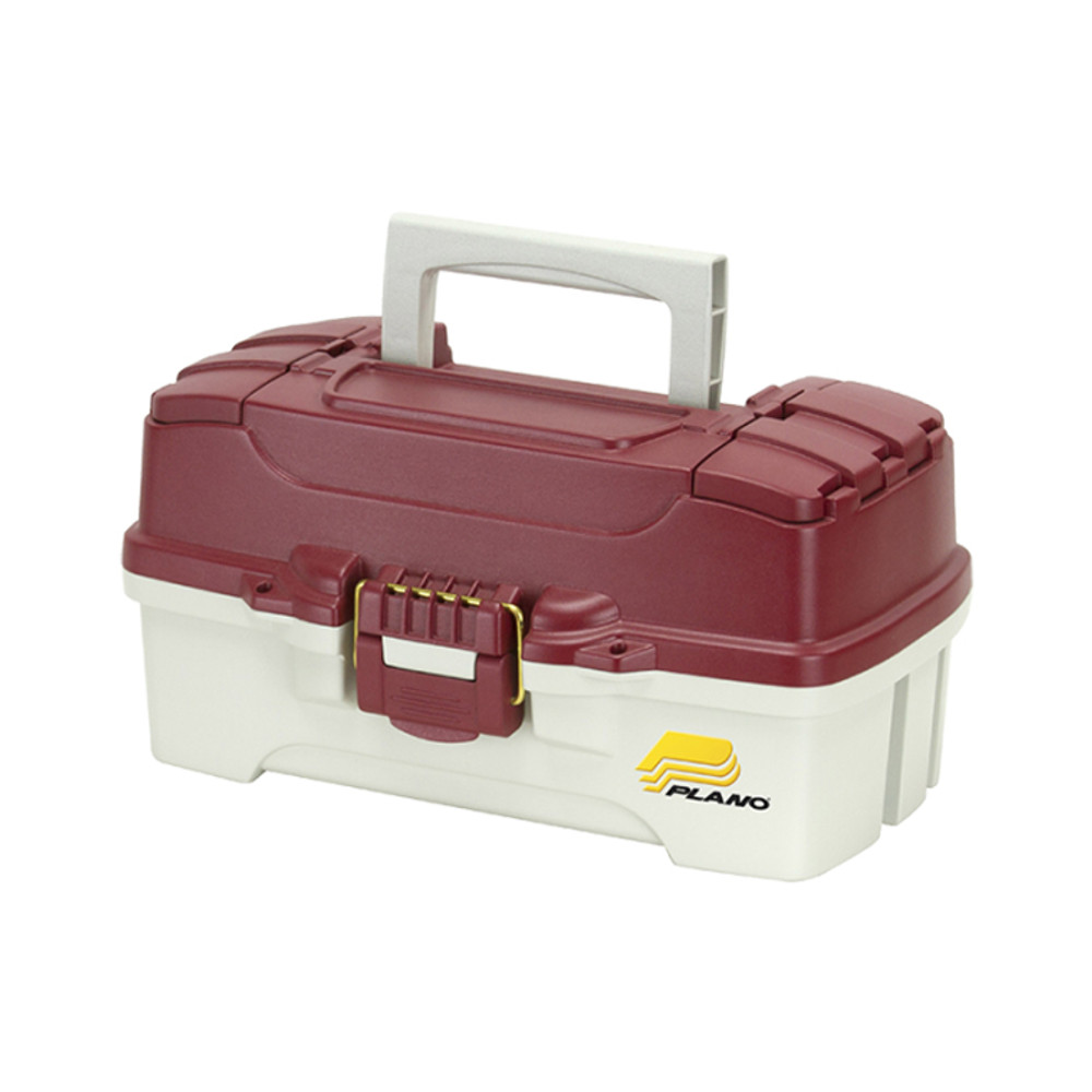 Plano One Tray Tackle Box, Red/White