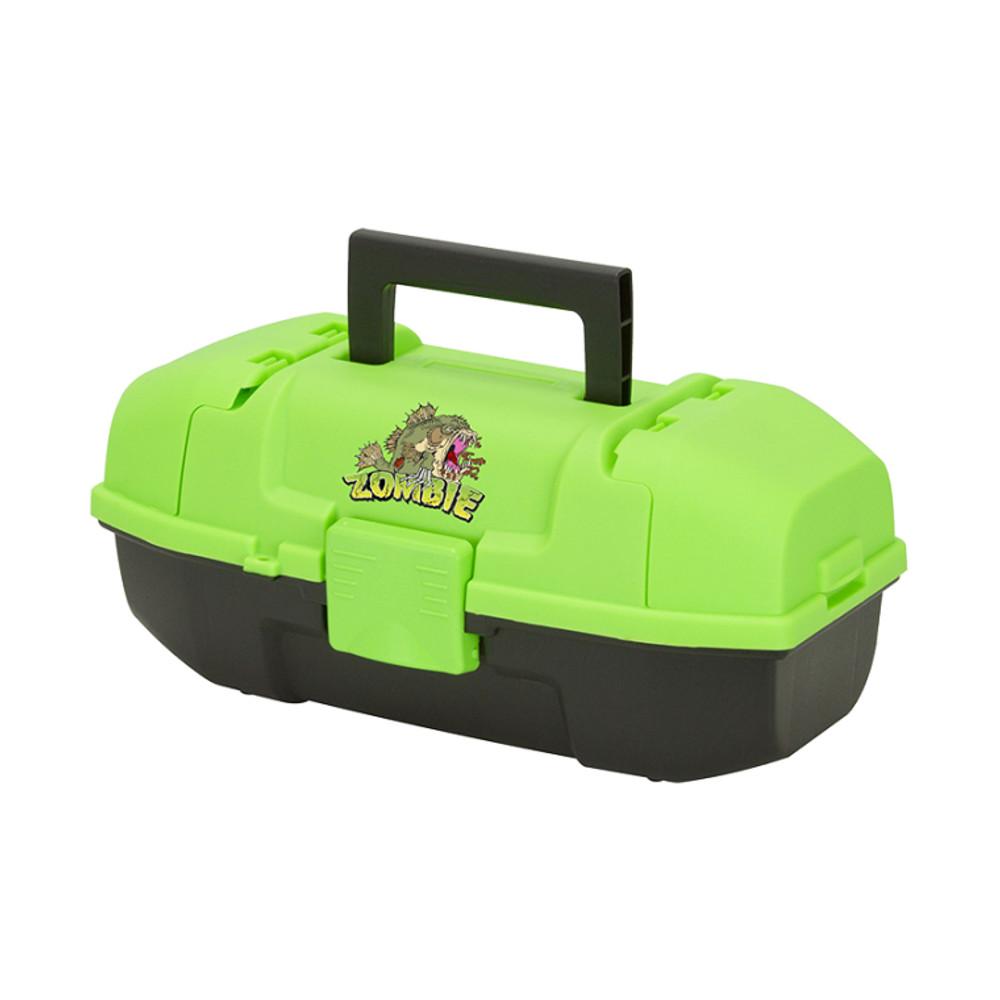 Plano Youth Tackle Box w/Tray, Zombie Fish
