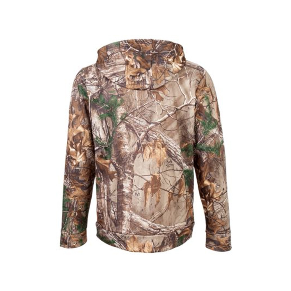 UA Icon Camo Hoodie - RealTree Xtra - Back View