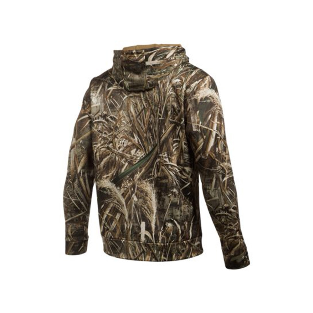 UA Icon Camo Hoodie - RealTree Max-5  - Back View