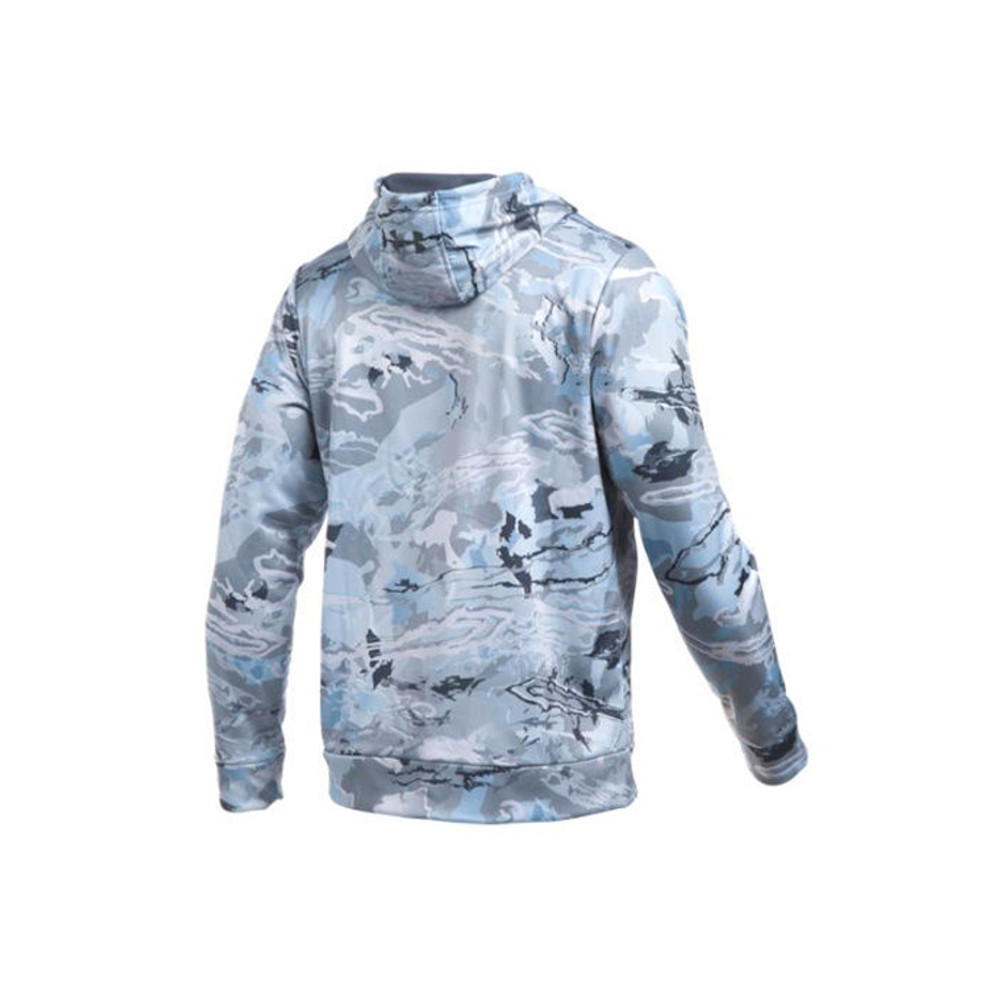 UA Icon Camo Hoodie - Ridge Reaper Hydro - Back View