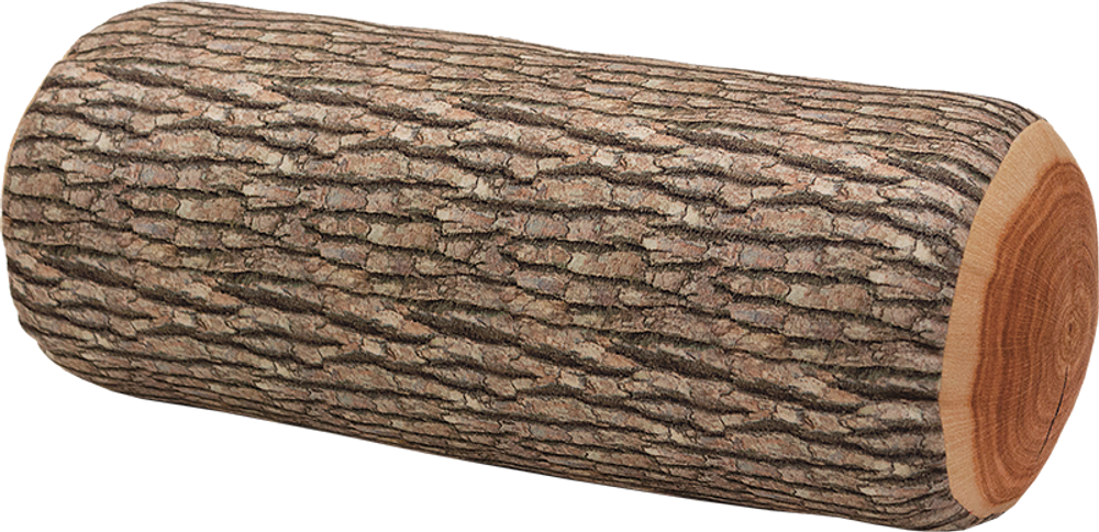 Kuma Wood Log Pillow