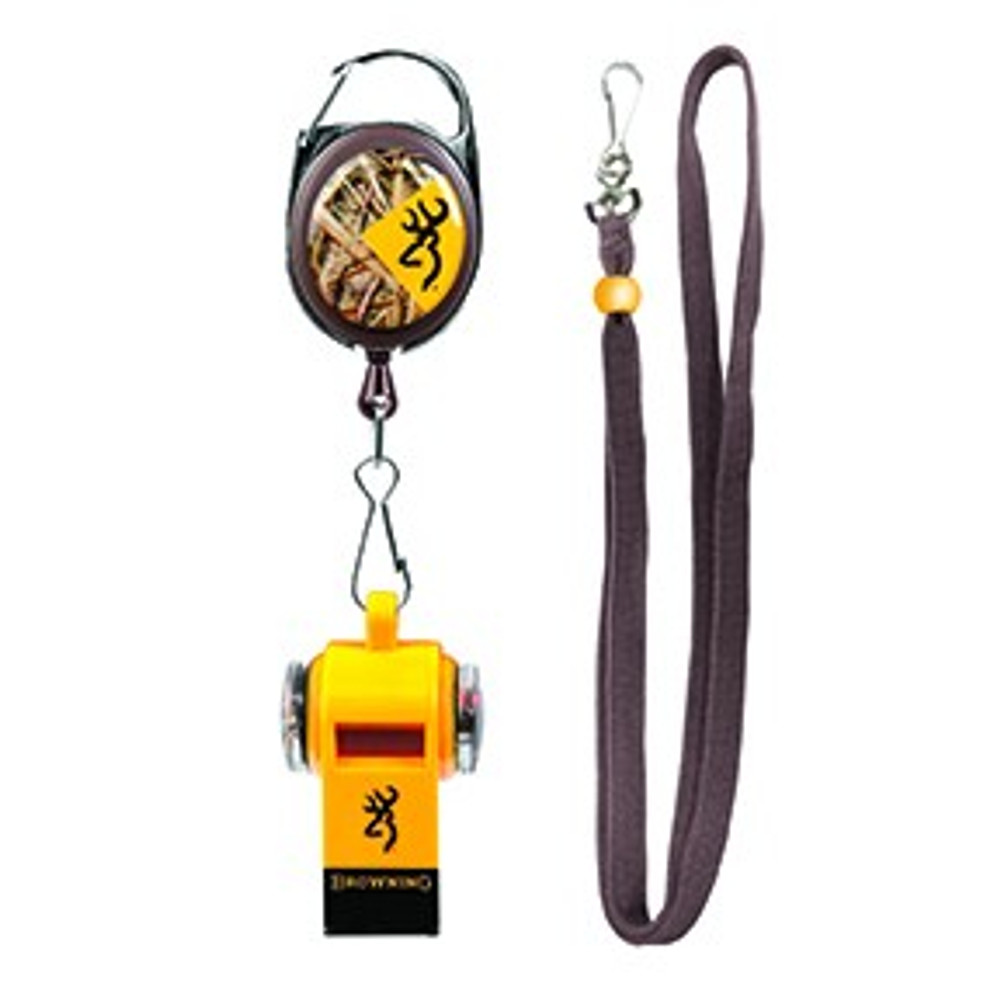 Browning Training Whistle & Retractable Lanyard