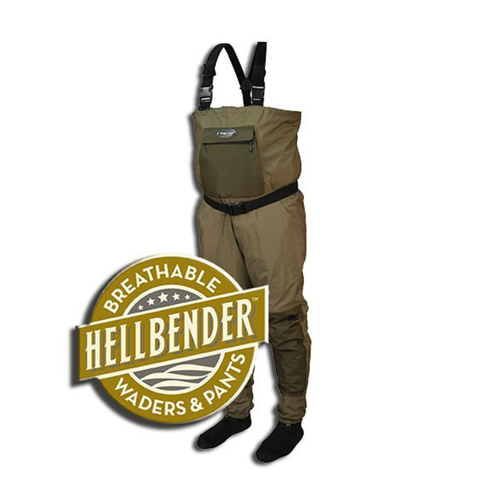 Frogg Toggs Hellbender Breathable Stocking foot Wader