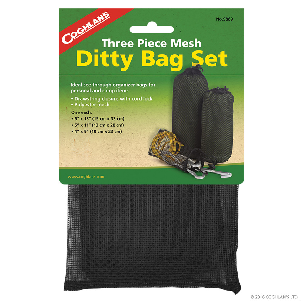 Coghlans Ditty Bag Set, 3 Piece